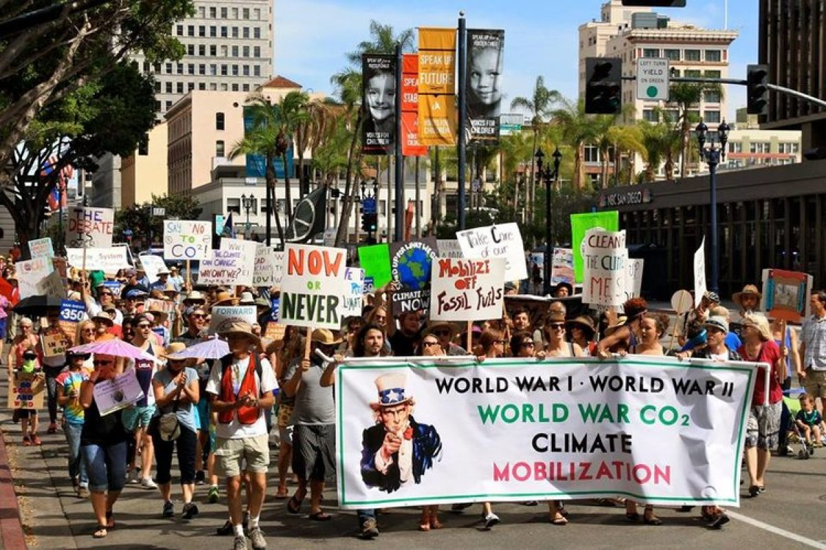We Need Help Collecting Signatures on our Petition for the Climate Mobilization Project