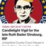 RBG Vigil 7:00 PM