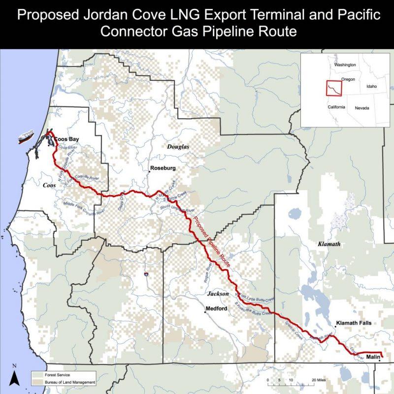 Jordan Cove/LNG Update – Hearing Dates Announced by FERC