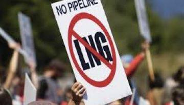 No LNG Sign