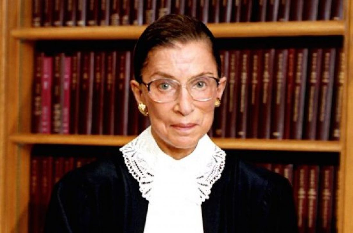 Justice Ginsberg Dead at Age 87